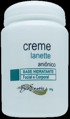 Creme Base Hidratante Lanette 1k Bioexotic