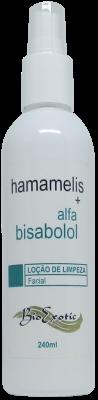 Loção para Limpeza Facial com Hamamelis e Alfabisabolol Bioexotic  240ml