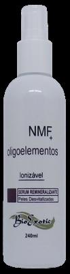 3  Frascos de Serum Facial Remineralizante Ionizável com NMF e Oligoelementos-PH entre 5,0 e 6,0 -240 ml  Bioexotic