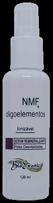 3 Frascos de  Serum Facial Remineralizante Ionizável com NMF e Oligoelementos 120 ml - Bioexotic