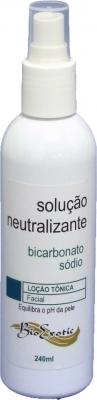 3 Frascos de Solução Neutralizante de Ácidos com Bicarbonato Sódio 240ml  Bioexotic