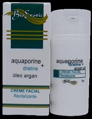 3 Potes de Creme Revitalizante com Óleo de Argan, Aquaporine e Drieline Bioexotic