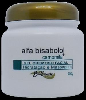 3 Potes de GEL CREMOSO FACIAL COM ALFA-BISABOLOL – OIL FREE   Bioexotic