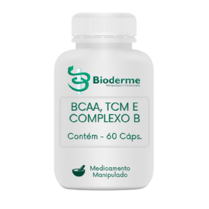 SUPLEMENTO NUTRICIONAL DE BCAA, TCM E COMPLEXO B